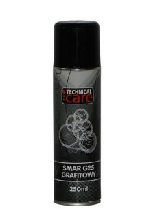 SMAR GRAFITOWY G25 100ML SPRAY TOTAL CARE