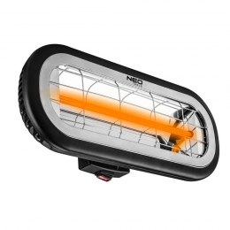 Promiennik 2000W, IP65, element grzejny low glare 90-032 Neo